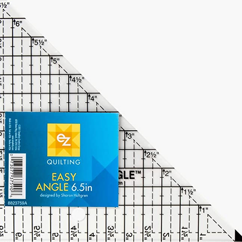EZ Quilting Easy Angle Acrylic Template, 6.5-inch