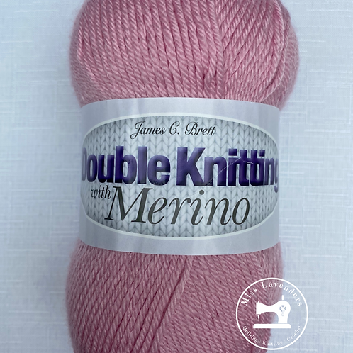 James C Brett  DK with Merino - Pink DM6