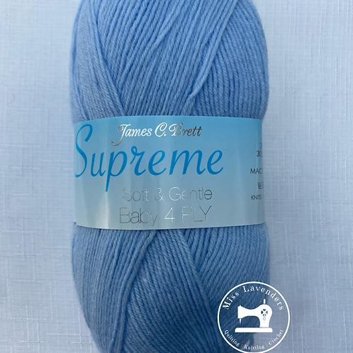 James C Brett Baby Supreme 4ply - Baby Blue SY05