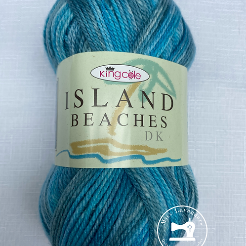 King Cole Island Beaches DK (100g) - Lagoon Blue/Turq 4528