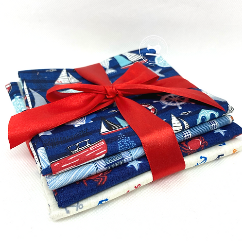 Makower Sail Away Fat Quarter Bundle