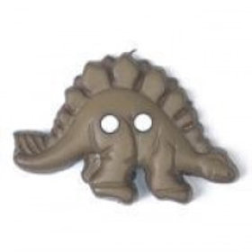 Khaki 2 Hole Dinosaur 28mm
