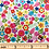 Thumbnail: Makower Daydream Floral 2280/W