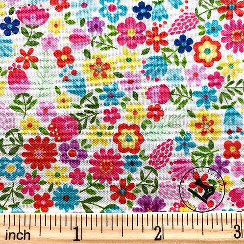 Makower Daydream Floral 2280/W