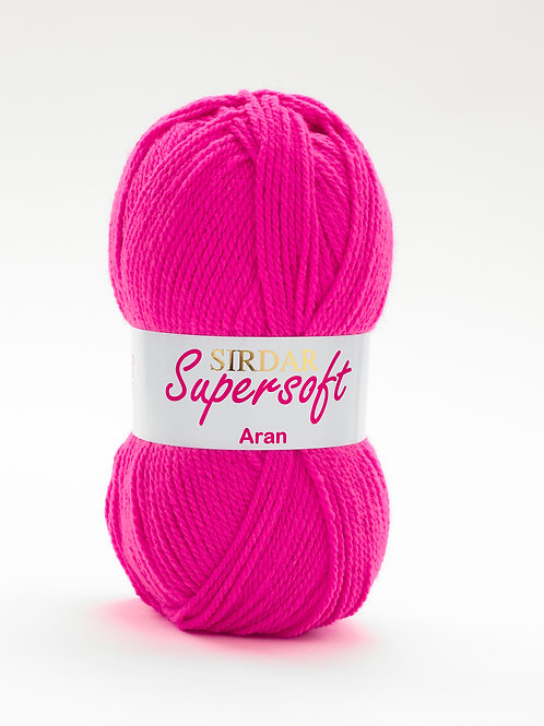 Sirdar Supersoft Aran Fab Fuchsia 902
