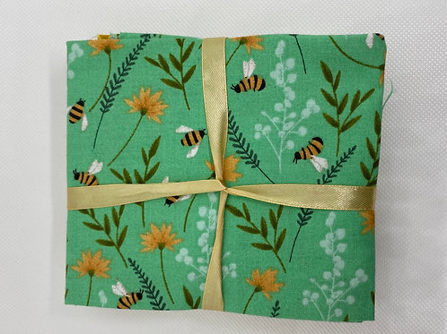 Bee Hive - Cotton Fat Quarters 5 Pack