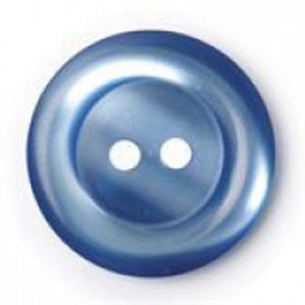 Buttons round Royal Blue 20mm
