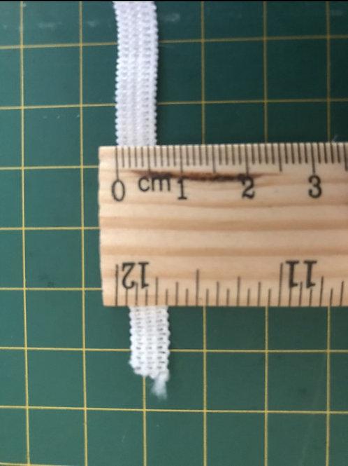 6mm Soft White Elastic