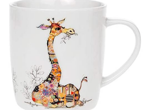 9 cm Bug Art Gerry Giraffe China Mug