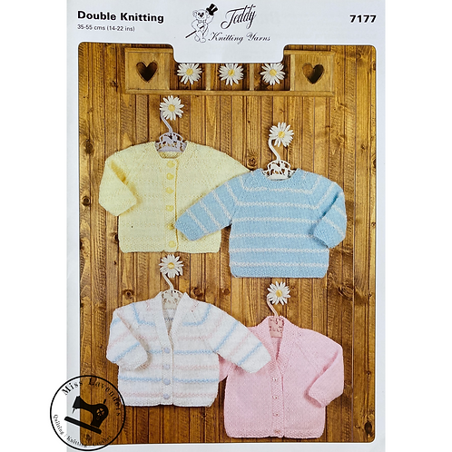 Teddy Baby/Childrens Cardigans and Sweater DK -7177