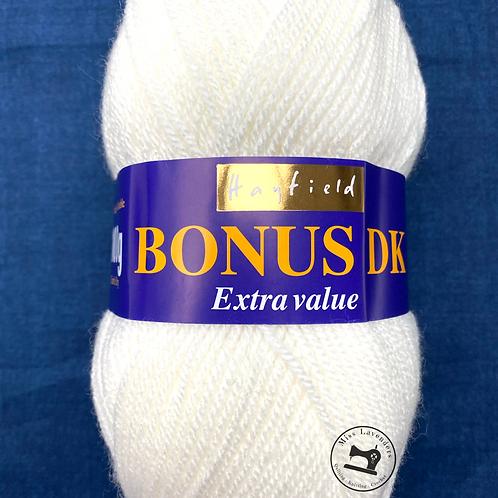 Sirdar Hayfield Bonus Double Knit DK -  Cream 812 - Extra Value - 100g