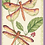 Thumbnail: Counted Cross Stitch Kit - Dragonfly Duo