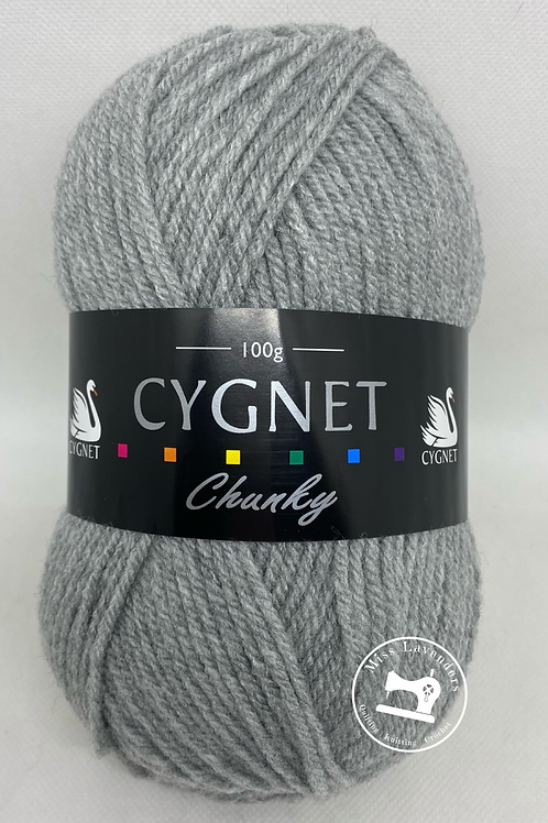 Cygnet Chunky - Light Grey 195