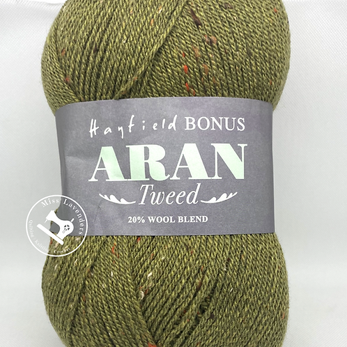 Sirdar Hayfield Bonus Aran Tweed 400g - Sagewood Green 695