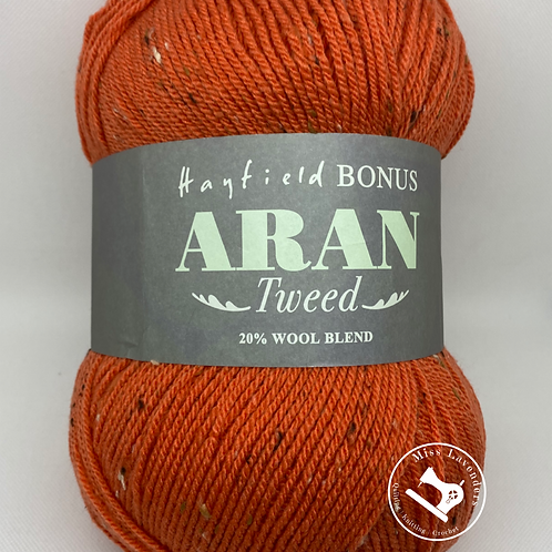 Sirdar Hayfield Bonus Tweed Aran 400g -   Goldfish 0662