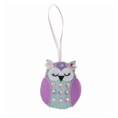 Owl Felt Kit Decoration