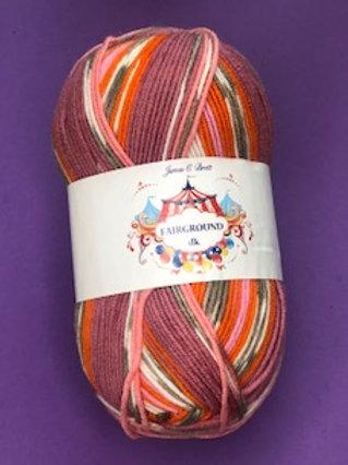 James C Brett Fairground DK - Pinks/Orange/Lilac G2