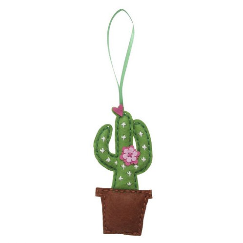 Cactus Felt Kit Decoration