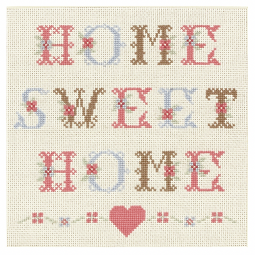 Home Sweet Home - Cross Stitch Kit ACS16