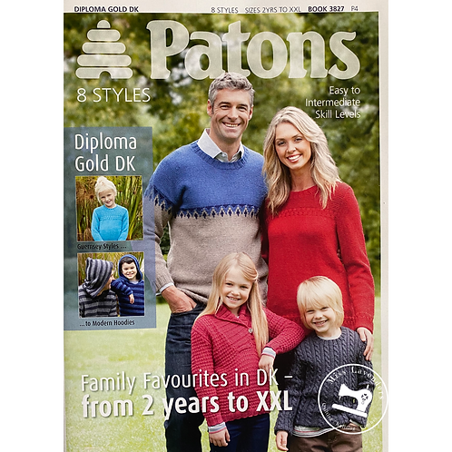 Patons Family Favourites  Book 3827 - DK