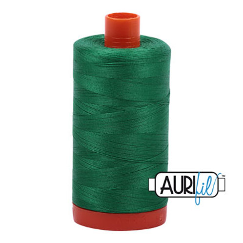 Aurifil 50/2 Green Thread, 2870
