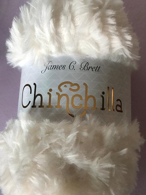 Chinchilla Furry 100g - James C Brett Cream CH01