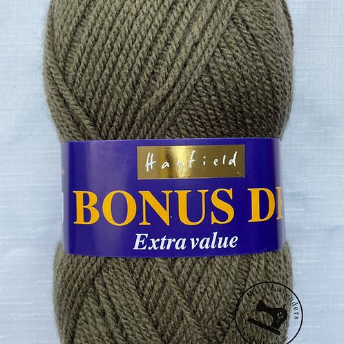 Sirdar  Hayfield Bonus Double Knit DK - Khaki Green 632 - Extra Value 100g