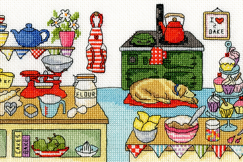 Cross Stitch Kit - Baking Fun