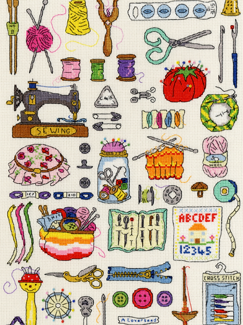 Cross Stitch Kit Hobbies Sewing
