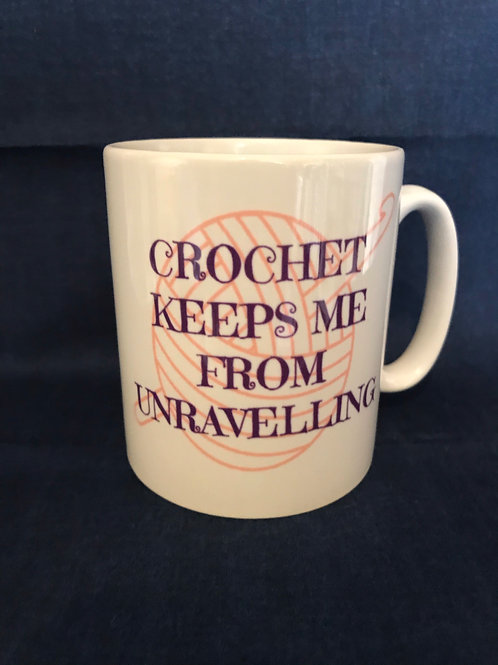 Crochet Mug Gift - Crochet quote
