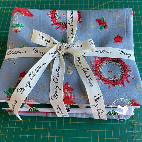Miss Lavenders Christmas Fabric Bundle - 5 half meters
