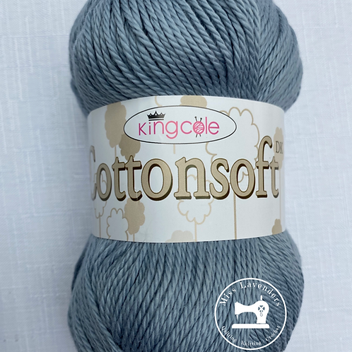 King Cole Cottonsoft DK Midnight Grey 3365