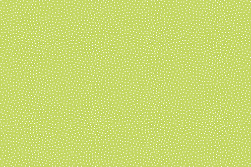 Makower Sunny Bee - Seed Dot Green Febric