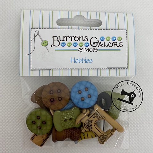 Buttons Galore - Hobbies Sewing 4099 - Childrens/Craft Button
