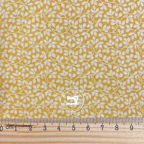 Andover Fabrics - Nanas  Flower Garden Beatrice Yellow