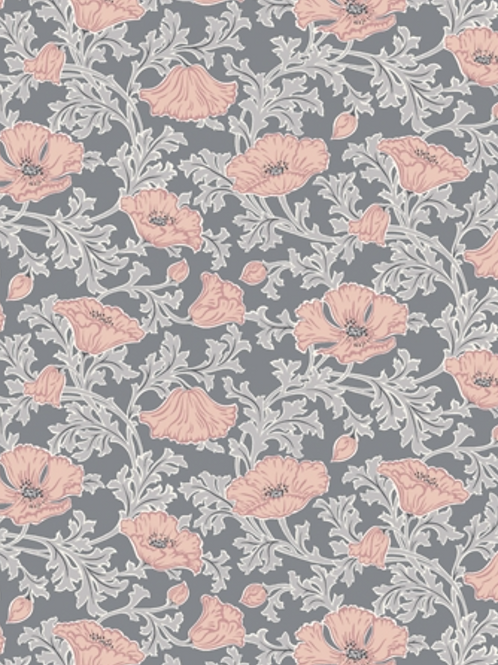 Liberty Winterbourne House - Beatrice Poppy Fabric - Peach 04775731/B