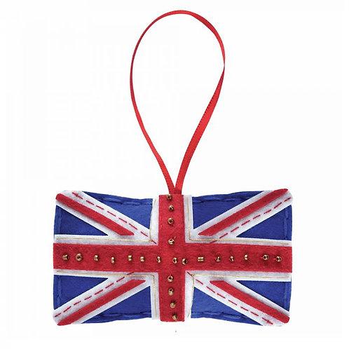 Union Jack Flag Felt Kit Decoration