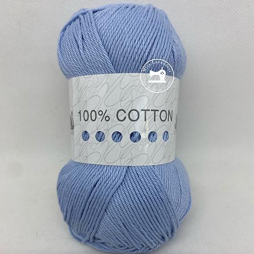 Cygnet 100% Cotton Double Knit  100g - Frosty Blue 5033
