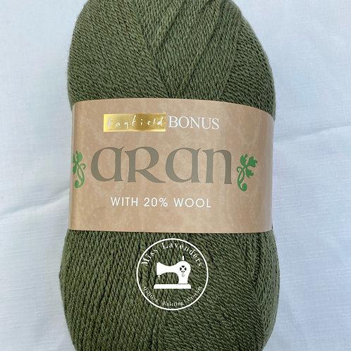 Sirdar Hayfield Bonus Aran 400g - Green Heather - 934