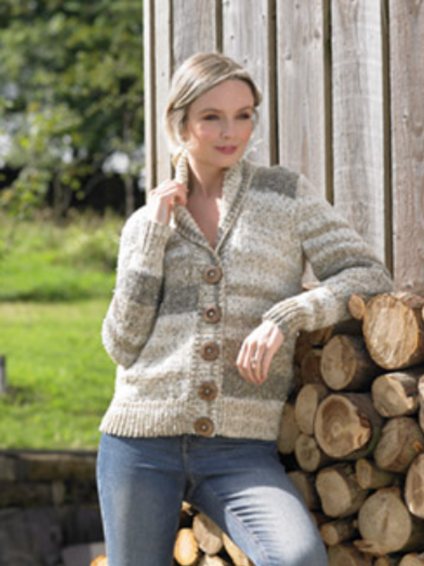 James C Brett - Adult Cardigan - Chunky JB714