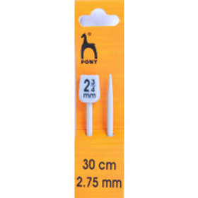 Pony Classic: Knitting Pins: Single Ended: 30cm x 2.75mm