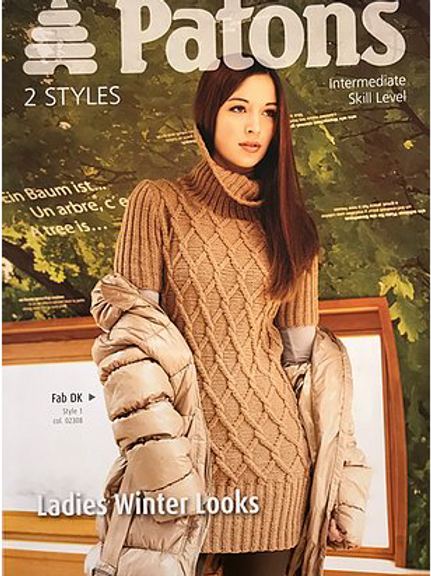 Patons Ladies Double Knit  3876