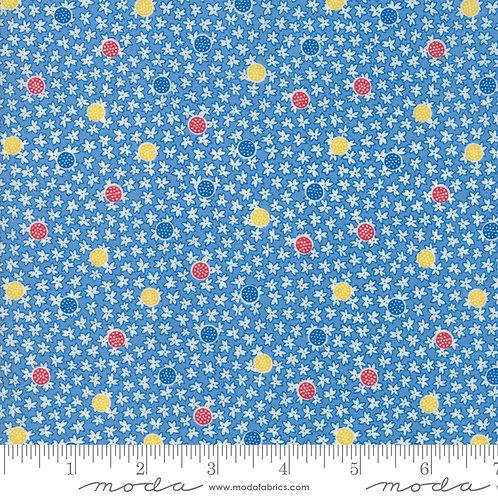 Moda Sweet Harmony Thimble dot blue