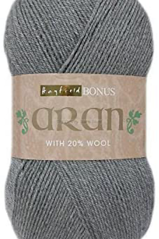 Sirdar Hayfield Bonus Aran with Wool 400g - Celtic Grey 0997