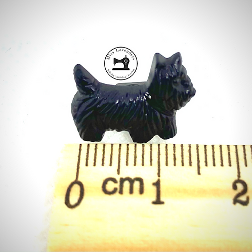 Black Dog 17mm Buttons