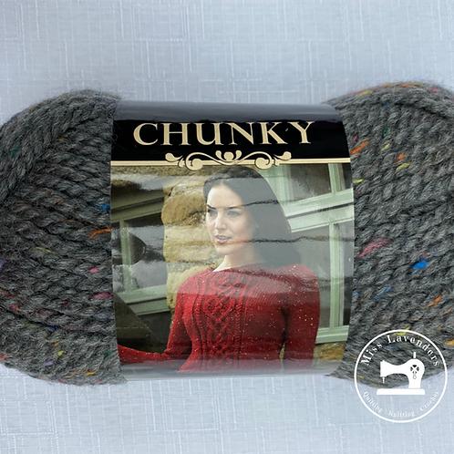 King Cole Chunky Tweed with 25% Wool - Dark Grey 1092