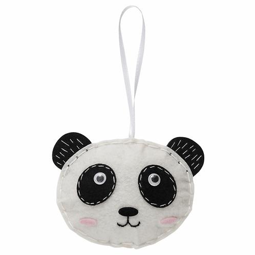 Make Your Own Panda Felt Kit