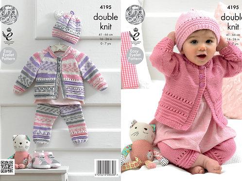 King Cole 4195 Babies DK