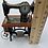 Thumbnail: Sewing Machine Miniature Clock - Sewing Table