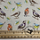 Thumbnail: Debbie Shore  - Garden Birds - 26551 Cotton Fat Quarters 5 Pack